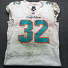Crucial Catch - Dolphins Kenyan Drake Game Used Jersey  (October 21st 2018)