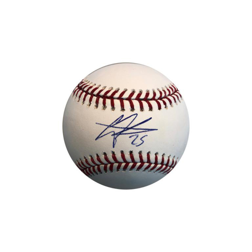 Photo of Gregory Polanco Autographed Baseball