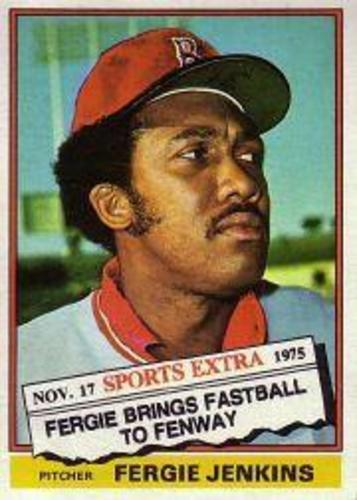 Photo of 1976 Topps Traded #250T Fergie Jenkins