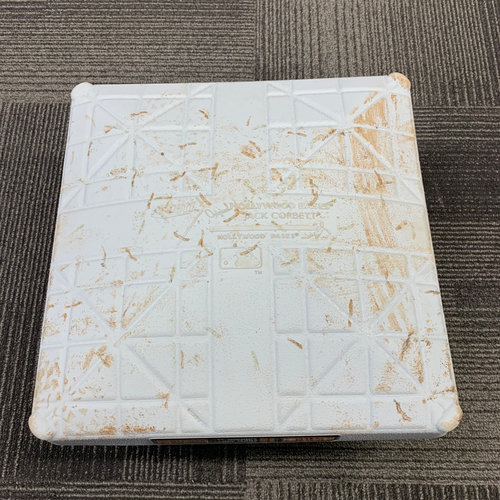 Photo of 2019 Game Used Base - 3rd Base from Innings 1-3 on June 14 vs. Milwaukee Brewers
