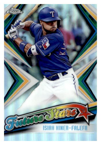 Photo of 2019 Topps Chrome Future Stars #FS15 Isiah Kiner-Falefa