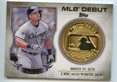 Photo of 2016 Topps MLB Debut Medallion #MLBDM225 Jose Abreu