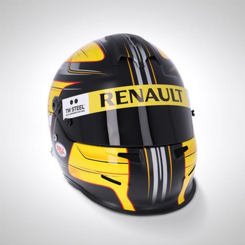 Photo of Robert Kubica 2010 Test-used Helmet