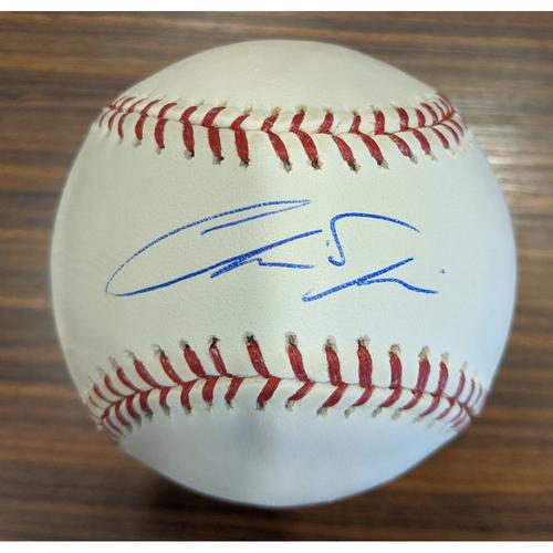Chris Davis - Autographed Baseball