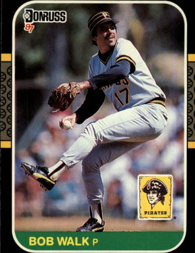 Photo of 1987 Donruss #203 Bob Walk