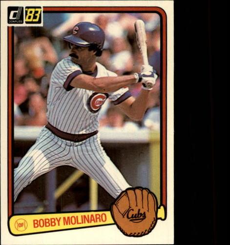 Photo of 1983 Donruss #596 Bob Molinaro