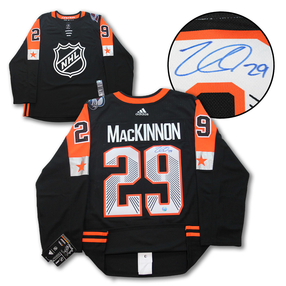 Nathan MacKinnon 2018 All Star Game Autographed Adidas Hockey Jersey