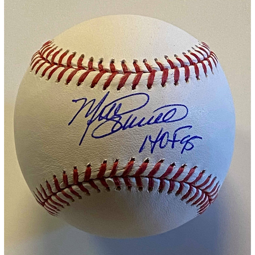 "Photo of Mike Schmidt ""HOF 95"" Autographed Authentic Baseball"
