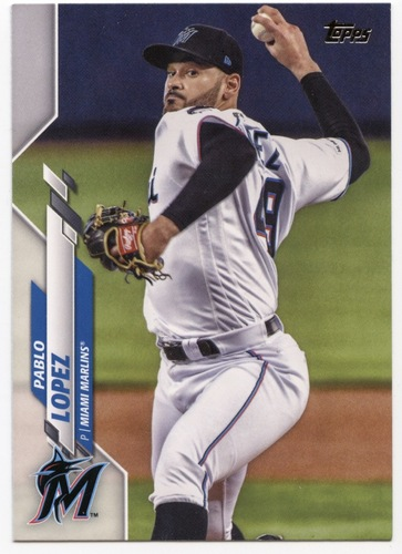 Photo of 2020 Topps #504 Pablo Lopez