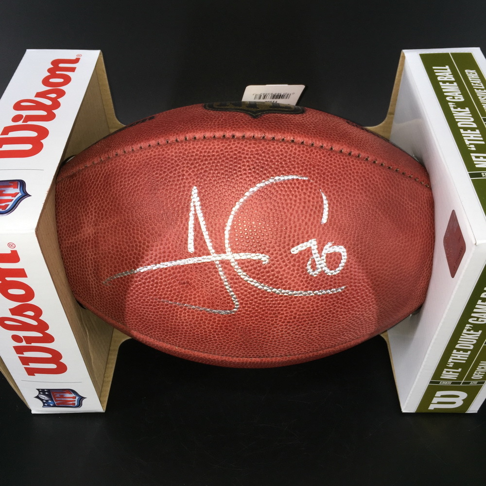 NFL - Steelers James Conner Signed Authentic Football