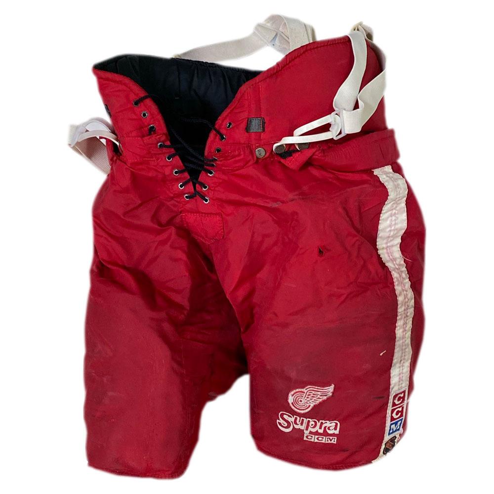 Mark Howe 1995 Stanley Cup Final Game-Used Detroit Red Wings CCM Hockey Pants