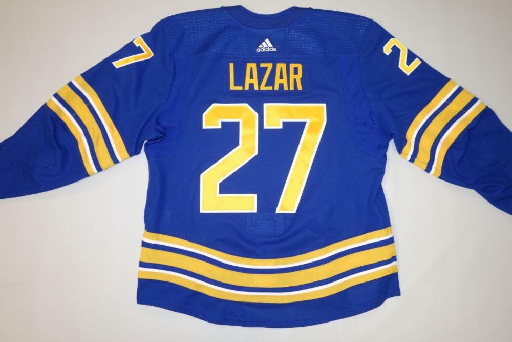 Curtis Lazar 2020-21 Buffalo Sabres Set 1 Home Jersey