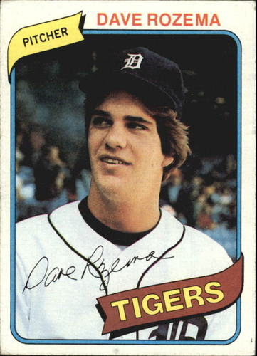 Photo of 1980 Topps #288 Dave Rozema