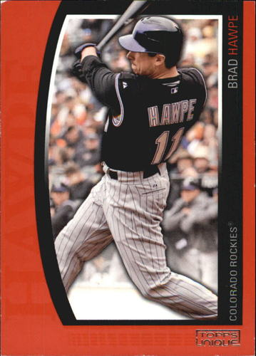 Photo of 2009 Topps Unique Red #27 Brad Hawpe