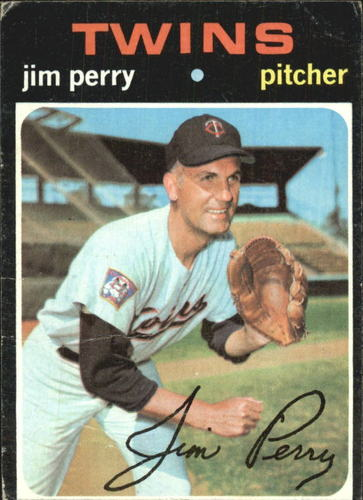 Photo of 1971 Topps #500 Jim Perry