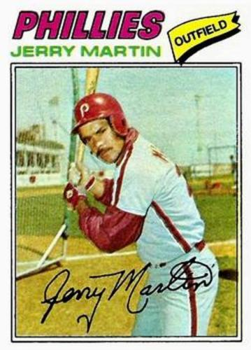 Photo of 1977 Topps #596 Jerry Martin RC