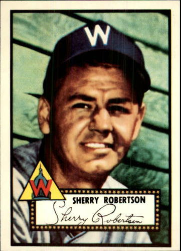 Photo of 1983 Topps 1952 Reprint #245 Sherry Robertson