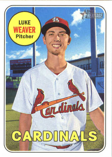 Photo of 2018 Topps Heritage #253 Luke Weaver