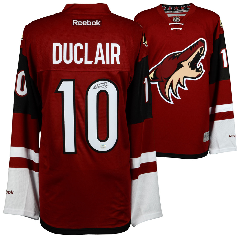 Anthony Duclair Arizona Coyotes Autographed Garnet Reebok Premier Jersey