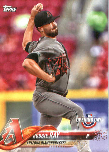 Photo of 2018 Topps Opening Day #193 Robbie Ray