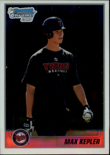 Photo of 2010 Bowman Chrome Prospects #BCP203A Max Kepler Pre-Rookie Card