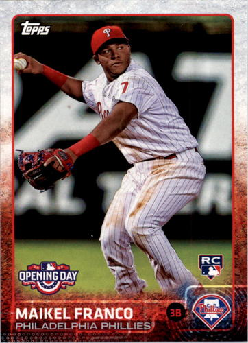 Photo of 2015 Topps Opening Day #185 Maikel Franco RC