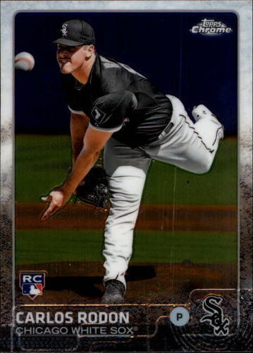 Photo of 2015 Topps Chrome #90 Carlos Rodon RC