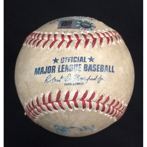 Photo of 2018 Chicago White Sox Game-Used Baseball - Choose your Game Date!