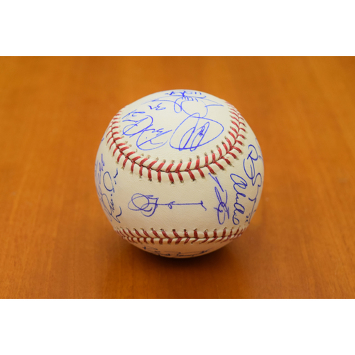 Photo of 2012 Detroit Tigers American League Champion Team Signed Baseball