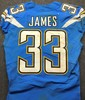 California Wildfire Relief - Chargers Derwin James Game worn Jersey (10/21/18) -- Rookie Year