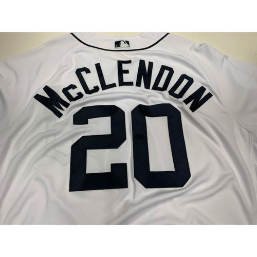 Photo of Team-Issued Jack Morris Number Retirement Day Jersey: Lloyd McClendon