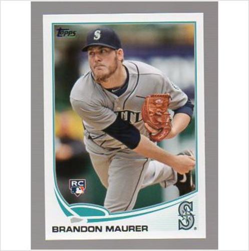 Photo of 2013 Topps #435 Brandon Maurer RC