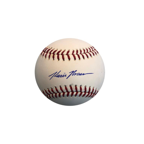 Photo of Kevin Kramer Autographed Baseball