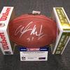 NFL - Falcons Alex Mack signed authentic football