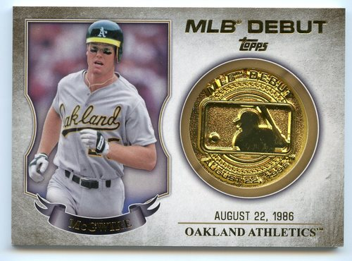 Photo of 2016 Topps MLB Debut Medallion #MLBDM228 Mark McGwire