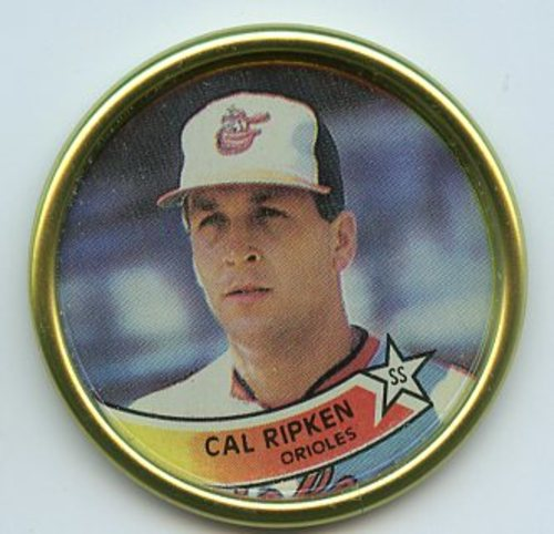 Photo of 1989 Topps Coins #50 Cal Ripken