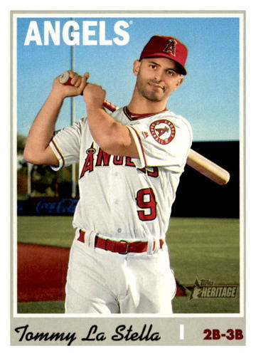 Photo of 2019 Topps Heritage #675 Tommy La Stella