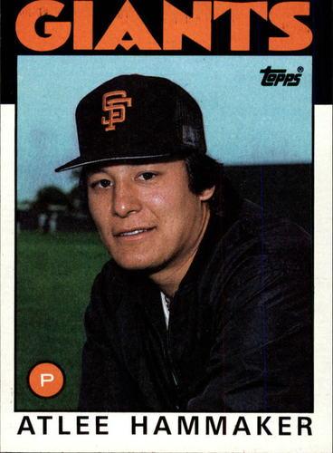 Photo of 1986 Topps #223 Atlee Hammaker
