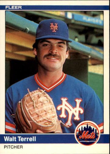 Photo of 1984 Fleer #601 Walt Terrell