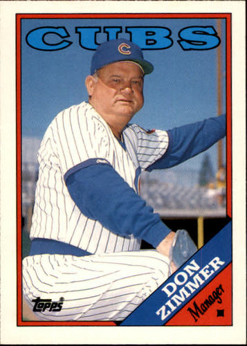 Photo of 1988 Topps Traded #131T Don Zimmer MG