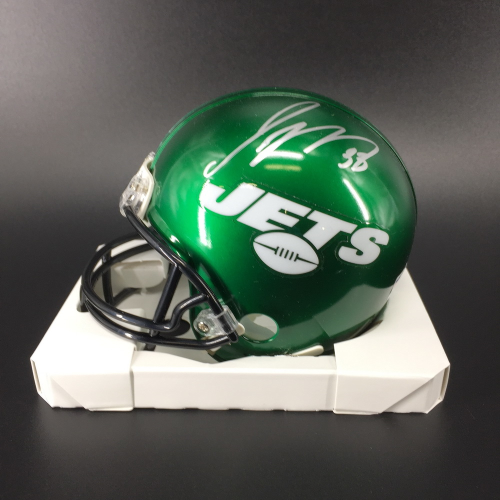 NFL - Jets Jamal Adams Signed Mini Helmet