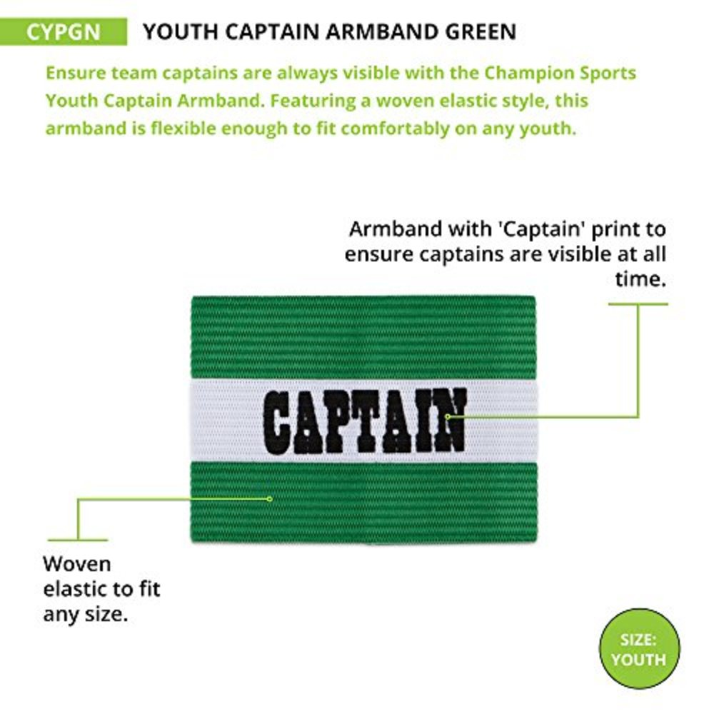 Photo of Champion Sports Captain Arm Bands