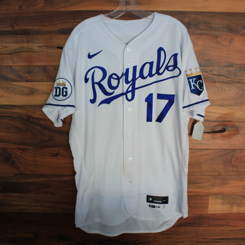 Photo of Game-Used 2020 Jersey: Hunter Dozier #17 (DET @ KC 9/27/20) - Size 46