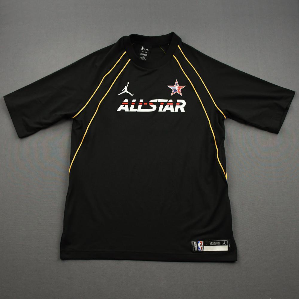 Rudy Gobert - Game-Worn 2021 NBA All-Star Short-Sleeved Shooting Shirt