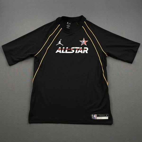 Image of Rudy Gobert - Game-Worn 2021 NBA All-Star Short-Sleeved Shooting Shirt