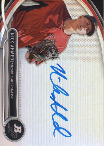 Photo of 2013 Bowman Platinum Prospect Autographs #NA Nick Ahmed