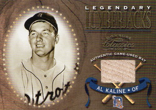 Photo of 2001 Donruss Classics Legendary Lumberjacks #LL15 Al Kaline