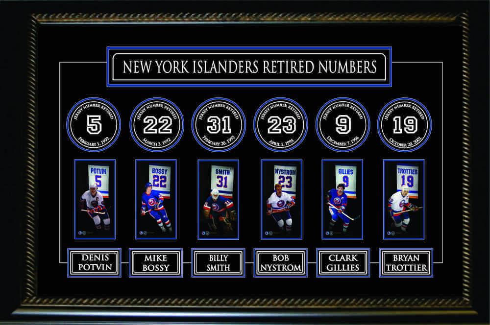ny islanders retired jerseys