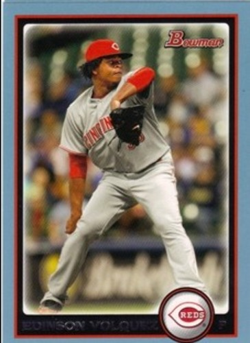 Photo of 2010 Bowman Blue #139 Edinson Volquez