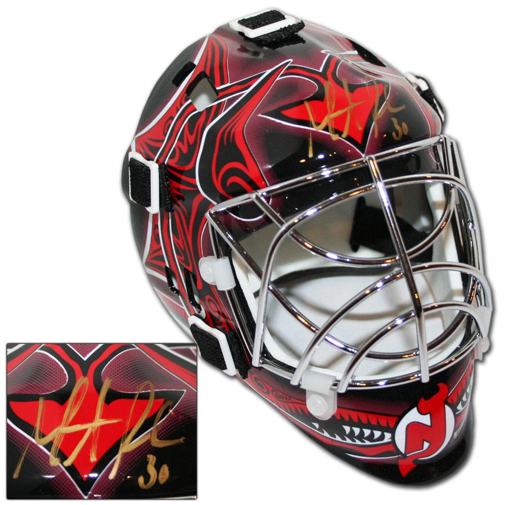 Martin Brodeur Autographed New Jersey Devils Mini-Goalie Mask